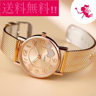 【ネット決済・配送可】送料無料!値下げしましたレディース♡腕時計...