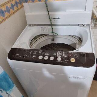 洗濯機7キロ(3年使用)、冷蔵庫(家族5人分・10年使用)…