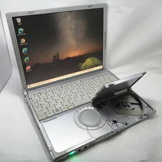 レッツノート SSD DVDドライブ付 Win10 Office...