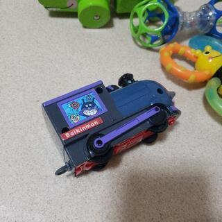 赤ちゃんのおもちゃ4点セット フィッシャープライス サッシー アンパンマン - さいたま市