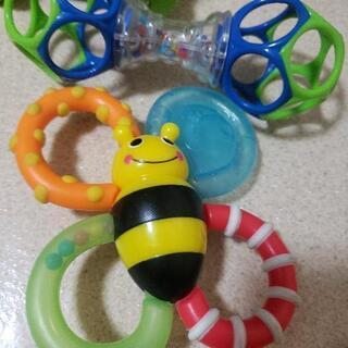 赤ちゃんのおもちゃ4点セット フィッシャープライス サッシー アンパンマン - 子供用品
