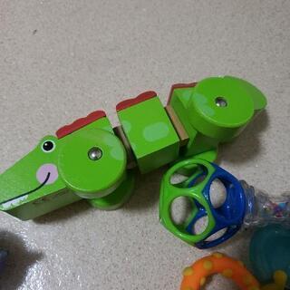 赤ちゃんのおもちゃ4点セット フィッシャープライス サッシー アンパンマン − 埼玉県
