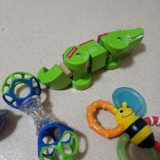 赤ちゃんのおもちゃ4点セット フィッシャープライス サッシー アンパンマン - 売ります・あげます