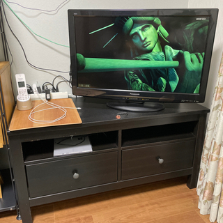 IKEAテレビ台 黒色 110cm x 47cm x 47cm
