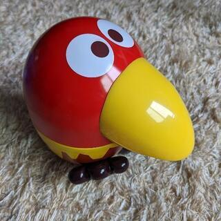 オブジェに!キョロちゃん おもちゃの缶詰めの空き缶!