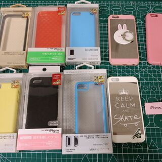 iphone5,5c,5s,6ケースセット