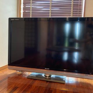 SHARP 液晶テレビ ※電源がつきませんの画像