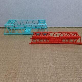 プラレール 鉄橋 二個セット