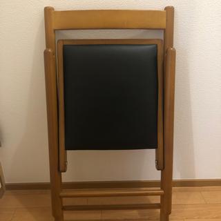 木製 おりたたみ 椅子