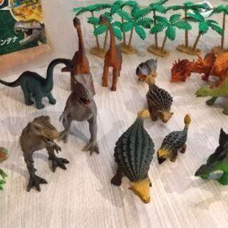 恐竜コンテナ40ピース