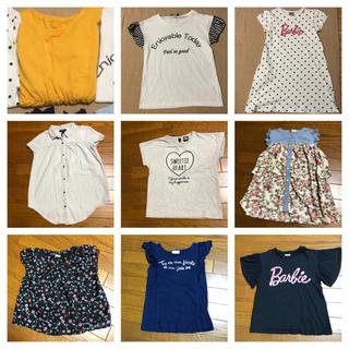 140 女の子 夏服 トップス Tシャツ gap kids 他 ...