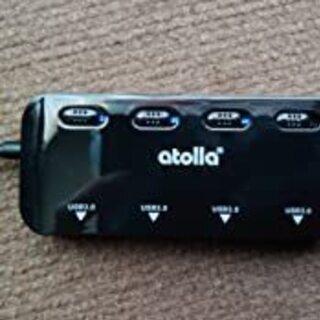 USB3.0 ハブ4ポート高速USB3.0拡張USB Hub 独...