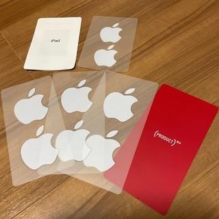 新品未使用❗️Apple アップルロゴステッカー 4シート 8枚セット