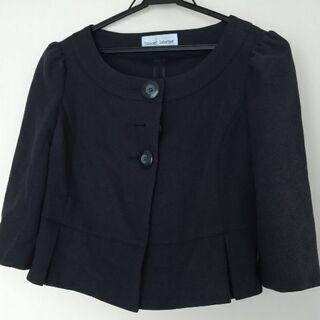 【ネット決済】紺色七分袖ジャケット(Mサイズ)