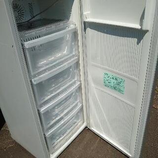2016年製 三菱 前開き 冷凍庫 121L フリーザー