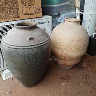 デカい壺 2個