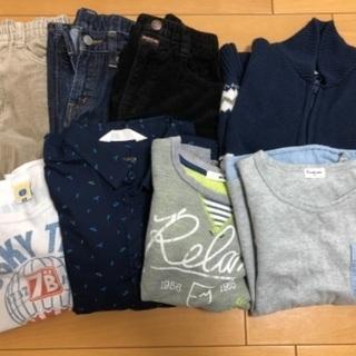 男の子 秋冬 服 パンツ 120