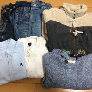 男の子 秋冬 服 パンツ 110