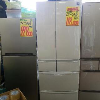 ① 美品 6ドア冷蔵庫(税込み)
