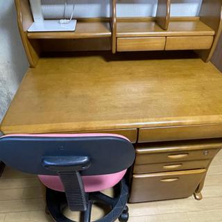 [受け渡し者決定]  学習机+椅子