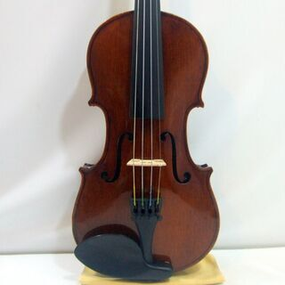 メンテ済み ドイツ製バイオリン 分数 3/4 Hermann Dolling jr violin Markneukirchen 1973年 ドイツ製 ザイフェルト弓 ケース ニス仕上げ済み おすすめ分数 全国発送対応 中古バイオリン 名古屋近郊 愛知県清須市より おすすめです。 管理(カ)8547 の画像