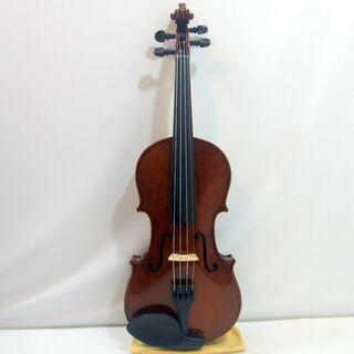 メンテ済み ドイツ製バイオリン 分数 3/4 Hermann Dolling jr violin Markneukirchen 1973年 ドイツ製 ザイフェルト弓 ケース ニス仕上げ済み おすすめ分数 全国発送対応 中古バイオリン 名古屋近郊 愛知県清須市より おすすめです。 管理(カ)8547  - 清須市