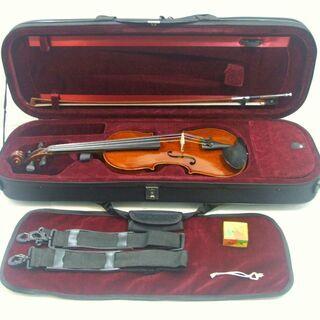 メンテ済み ドイツ製バイオリン 分数 3/4 Hermann Dolling jr violin Markneukirchen 1973年 ドイツ製 ザイフェルト弓 ケース ニス仕上げ済み おすすめ分数 全国発送対応 中古バイオリン 名古屋近郊 愛知県清須市より おすすめです。 管理(カ)8547  - 売ります・あげます