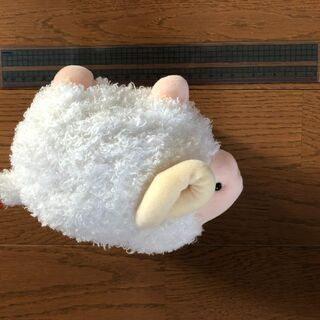 羊のぬいぐるみ