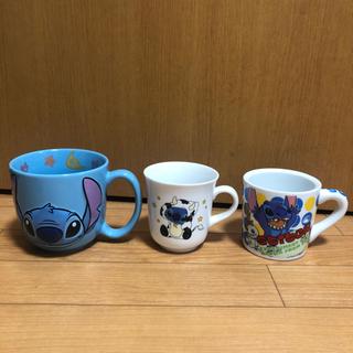 ディズニー スティッチ マグカップ 3種