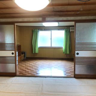 六畳二間 学生専用 下宿 田舎の一軒家。