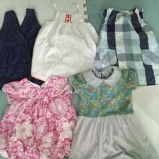 夏物saleサイズ110☆ワンピースまとめ売り