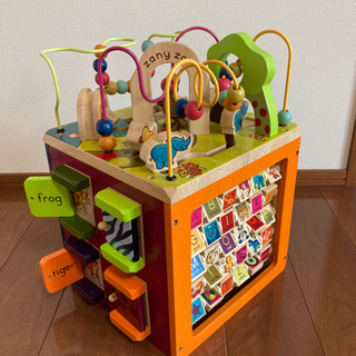 知育玩具 Zany Zoo アクティビティキューブ
