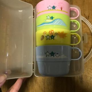 コップ プラスチック 子供用 キャンプ 携帯