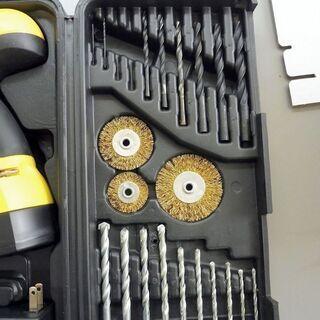 成約済みになりました。ベルソス(VERSOS)電動ドライバー ドリル 92点セット 充電式  VS-TL1000 21.6V  中古   − 鳥取県