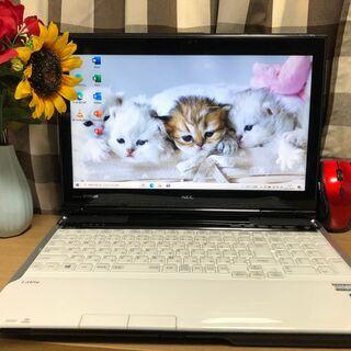 彡Webカメラ内蔵・NEC・超高速i7第三/新品SSD240GB...