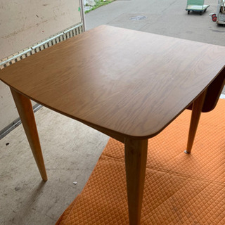伸長式 ダイニングテーブル 80〜120