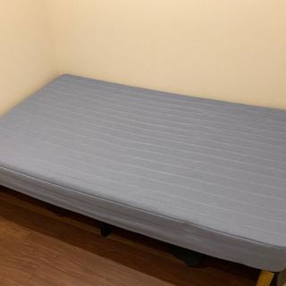 【ネット決済】【ニトリ】セミダブル ベッド マットレス・脚付き