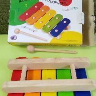 ピントーイ(PINTOY) 5色のもっきん シロフォン