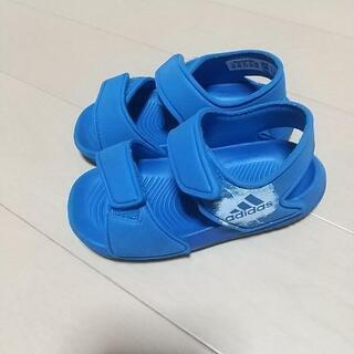 「adidas」子供用サンダル 14cm