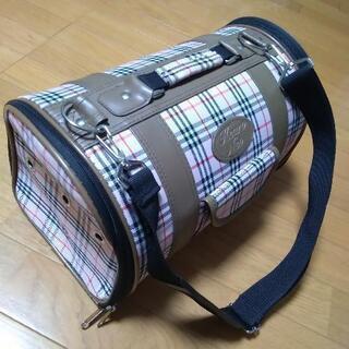 小型ペットバッグ  中古品 内側キズあり ネコ ショルダー…