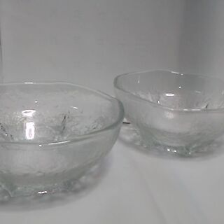 ガラス鉢 中鉢 麺鉢