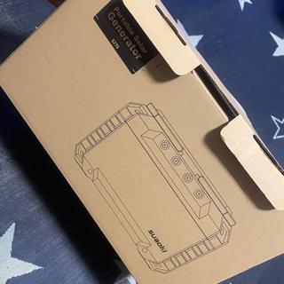 (取引中)蓄電池 ポータブル電源 suaoki S270 405...