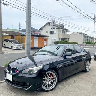 【ネット決済・配送可】BMW 5シリーズ カスタム 格安車 車検...