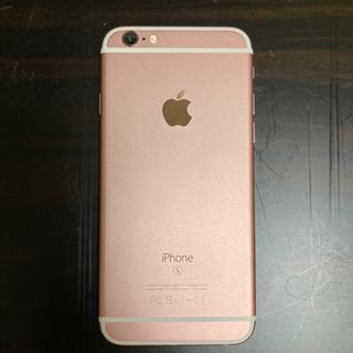 値下げ iPhone 6s  SIMフリー 64GB Rose ...