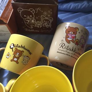 【取引中】リラックマ ローソンキャンペーン食器8点セット  − 東京都