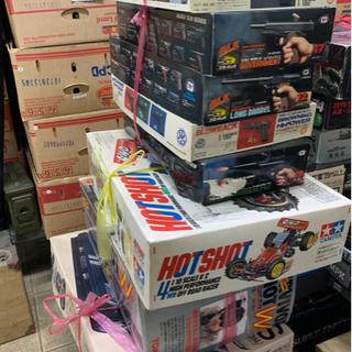 昔の玩具、プラモデル、電子機器系統など強化買取中