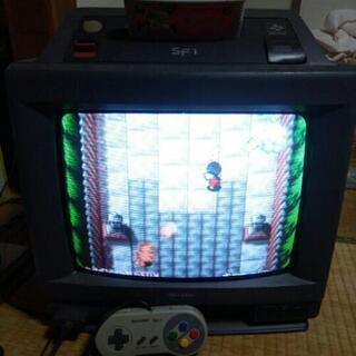 スーパーファミコン 内蔵テレビ