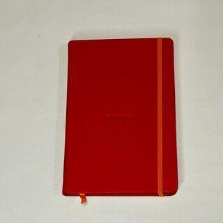 【ネット決済・配送可】RHODIAラマ 赤ノートブック
