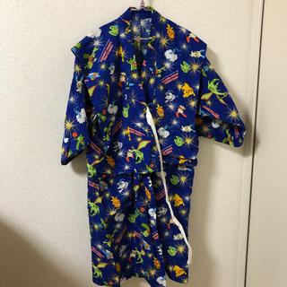 男児浴衣紺色120サイズ