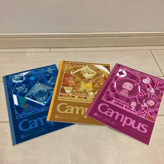【値下げ】鬼滅の刃 campus  キャンパスノート3冊セット